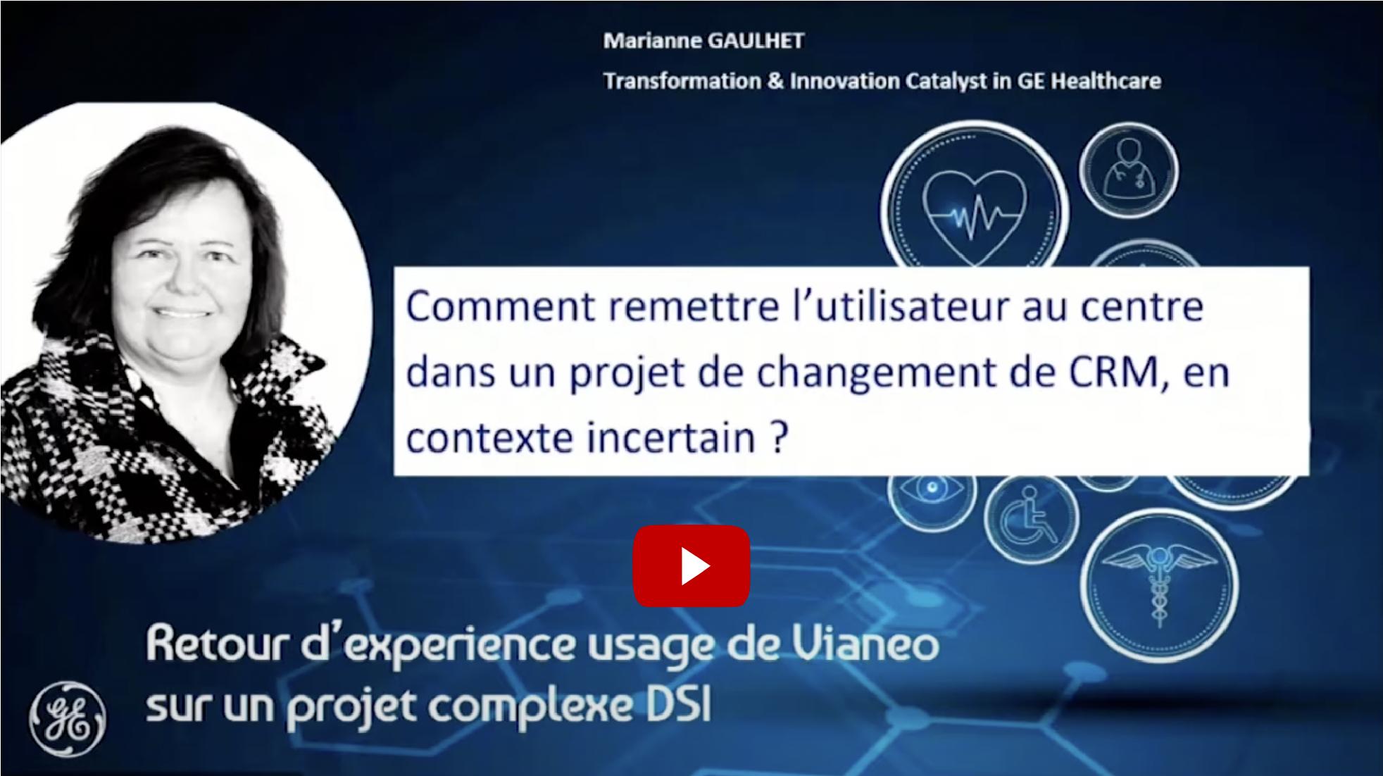IMAgine Days : Retour d'experience usage de Vianeo sur un projet complexe DSI